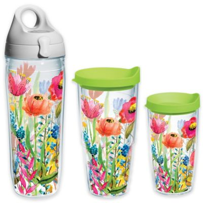 Tervis® Watercolor Wildflowers 16 oz. Wrap Tumbler with Lid