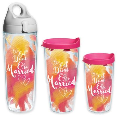 Tervis® Eat Drink and Be Married 16 oz. Wrap Tumbler with Lid
