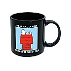 ICUP™ Peanuts® Life Is Full Of Risks Ceramic Mug
