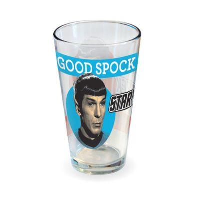ICUP™ Star Trek™ Good Spock Evil Spock Pint Glass