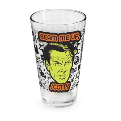 ICUP™ Star Trek™ Beam Me Up Pint Glass