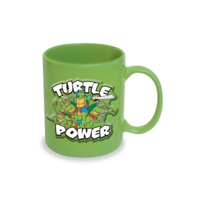 ICUP™ Teenage Mutant Ninja Turtles Embossed Turtle Power 20-Ounce Ceramic Mug