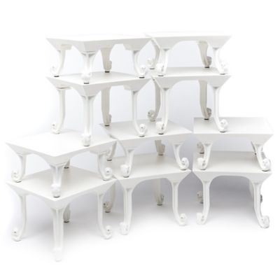 Classic Tabletop Designs in White