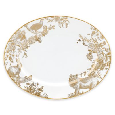Marchesa by Lenox® Gilded Forest 13-Inch Oval Platter