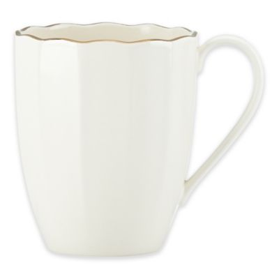 Marchesa by Lenox® Shades of White Mug