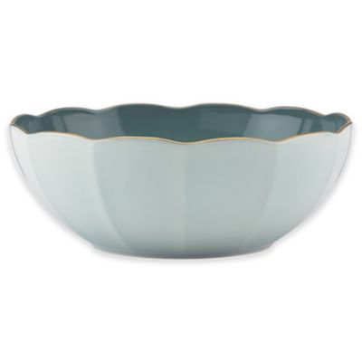 Marchesa by Lenox® Shades of Teal Serving Bowl