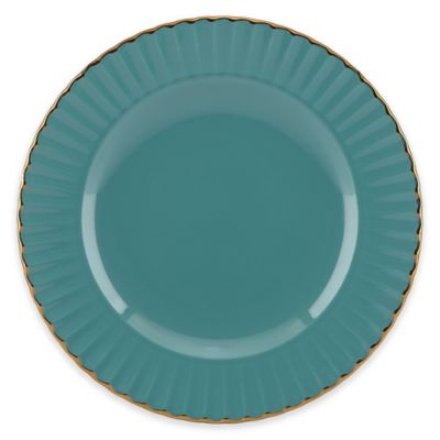 Marchesa by Lenox® Shades of Teal Accent Plate