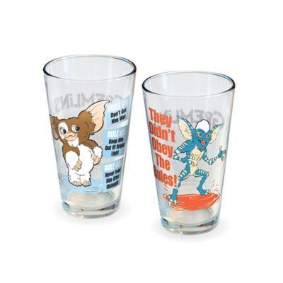 Gremlins Rules Pint Glasses (Set of 2)