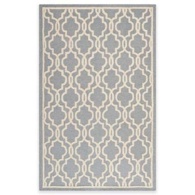 Ivory Wool Area Rugs