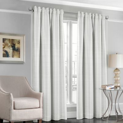 White Satin Curtains