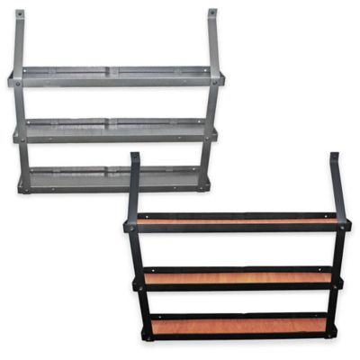 Rogar 3-Tier Spice/Decorative Display Rack in Steel
