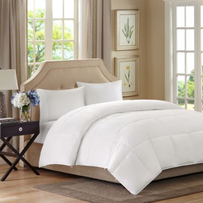 Madison Park Sleep Philosophy Benton Down Alternative Twin Comforter in White