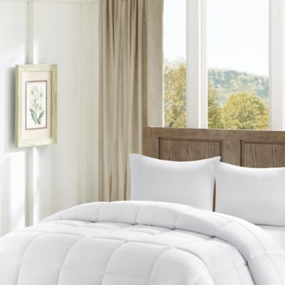 Madison Park Winfield Luxury Down Alternative Twin/Twin XL Comforter in White