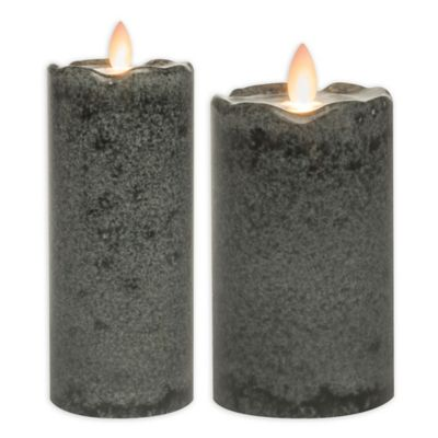 Mirage® Flickering Flame LED Pillar Candle