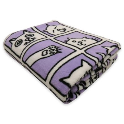 Plum Blankets & Throws