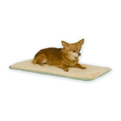 Thermo-Pet Heated Pet Mat in Mocha/Tan