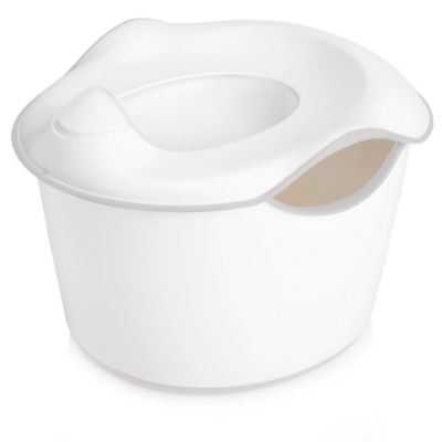 Ubbi® 3-in-1 Potty in White/Grey
