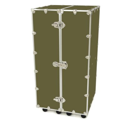 Rhino Trunk and Case™ Large Urban Wardrobe Trunk in Olive