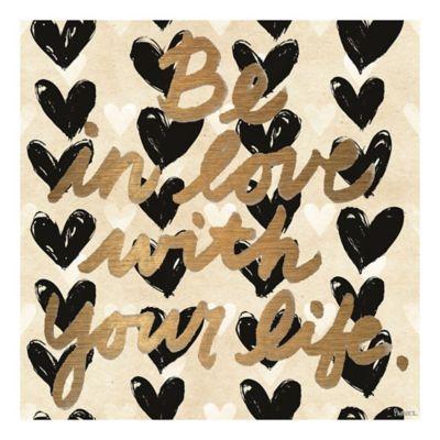 Parvez Taj Love Your Life 48-Inch x 48-Inch Canvas Wall Art
