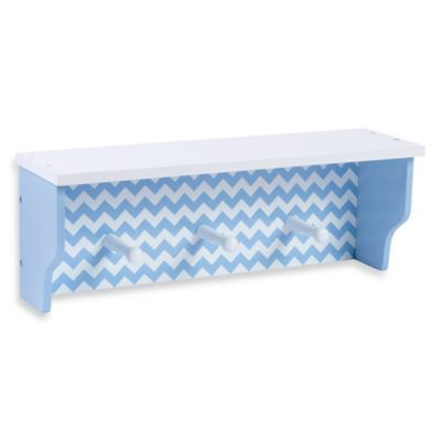 Trend Lab® Chevron Shelf in Blue