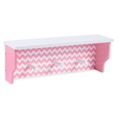 Trend Lab® Chevron Shelf in Pink