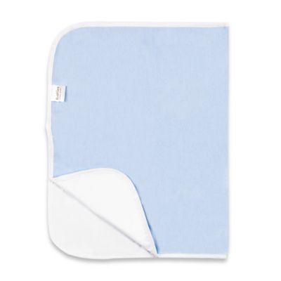 Kushies Deluxe Flannel Changing Pad in Blue