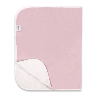 Kushies Deluxe Flannel Changing Pad in Pink