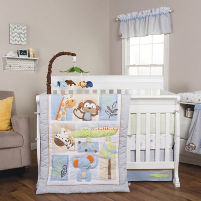 Trend Lab® Jungle Fun Animal 6-Piece Crib Bedding Set