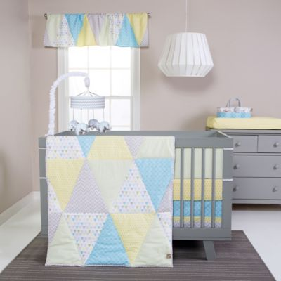 Trend Lab® Triangles 3-Piece Crib Bedding Set