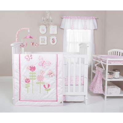 Trend Lab® Floral Fun 6-Piece Crib Bedding Set