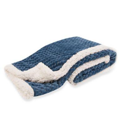 Navy Blue and Cream Bedding