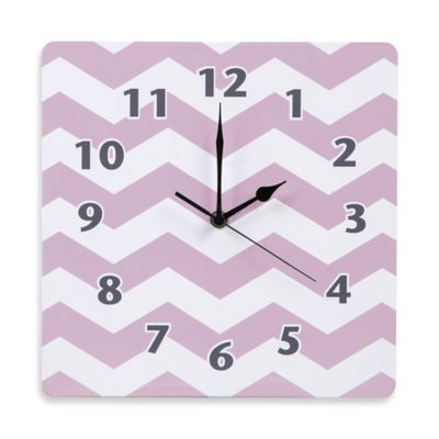 Trend Lab® Orchid Bloom Wall Clock