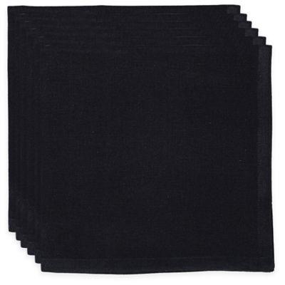 Black Napkins (Set of 6)