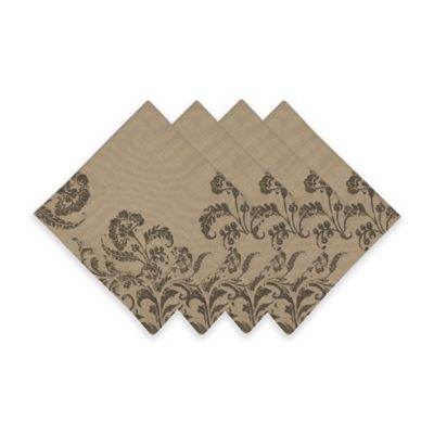 French Scroll Napkin (Set of 4)