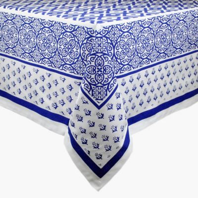 Tunisia Print 60-Inch x 84-Inch Tablecloth