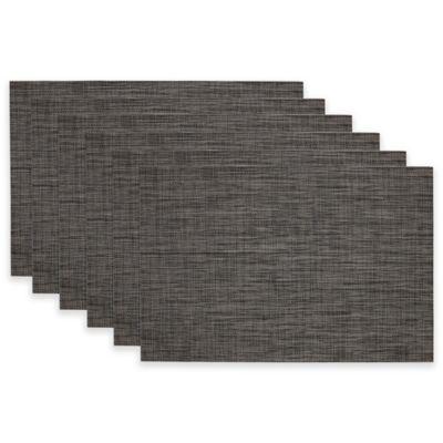 Grey Tonal Tweed Placemat (Set of 6)