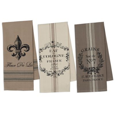 French Grain Sack Kitchen Towel (Set of 3)