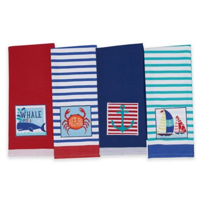 Nautical Summer Kitchen Towel (Set of 4)