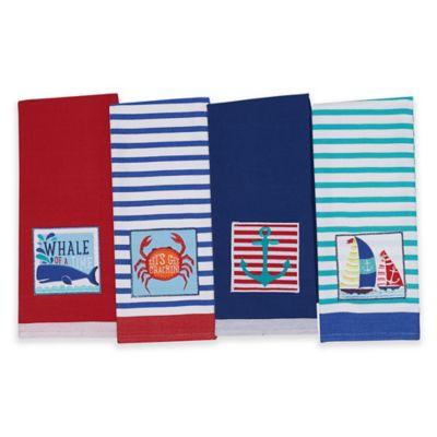 Kitchen Towels Coastal Kitchen & Dining