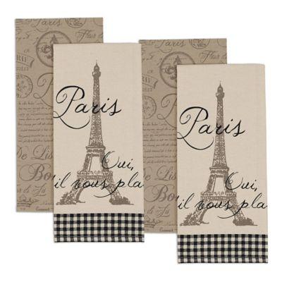 Paris Kitchen Towel (Set of 4)