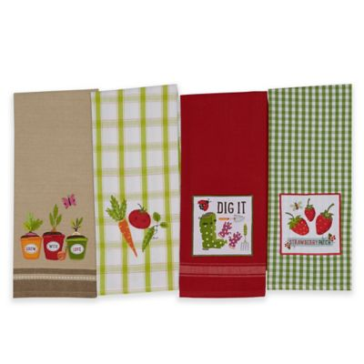 Pea Patch Kitchen Towel (Set of 4)