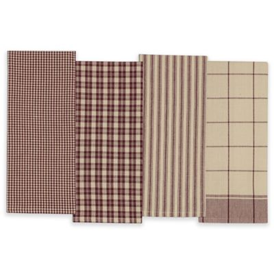 Plum Kitchen Towel (Set of 4)