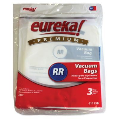Eureka 3-Pack RR Premium High Filtration Disposable Dust Bags