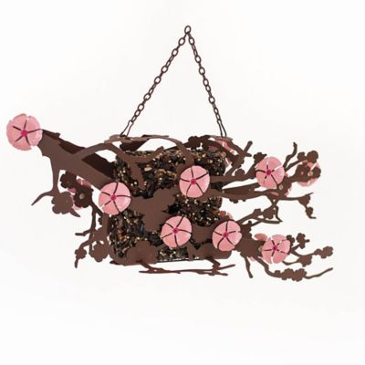 Desert Steel Cherry Blossom Suet Bird Feeder