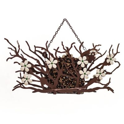 Desert Steel Pear Blossom Suet Bird Feeder