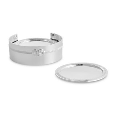 Vera Wang Wedgwood® Vera Infinity 5-Piece Coaster Set