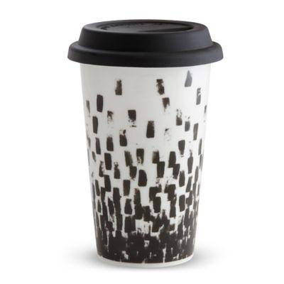 Vera Wang Wedgwood® Vera Print Check Travel Mug