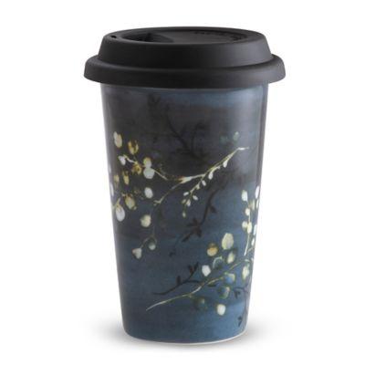 Vera Wang Wedgwood® Vera Print Floral Travel Mug
