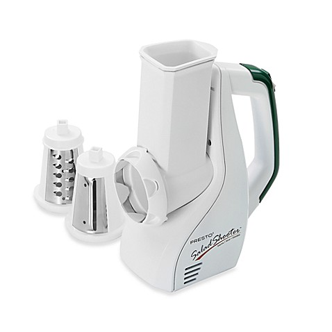 Presto Salad Shooter Electric Slicer/Shredder