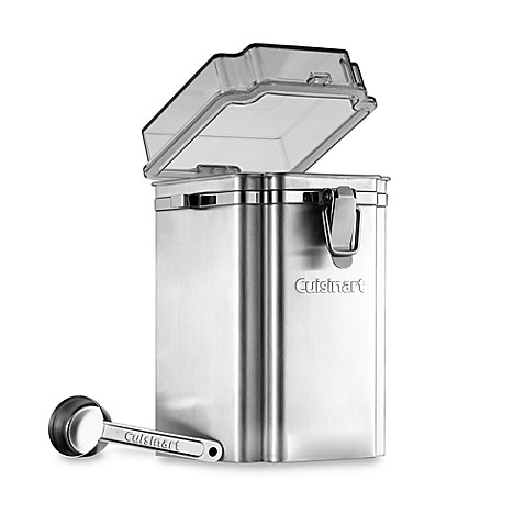 Cuisinart® Stainless Steel Coffee Canister